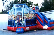 Muscleworld Combo Inflatable Combo Rental