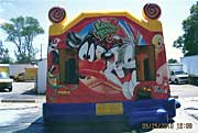 Looney Tunes Combo Inflatable Combo Rental
