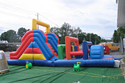 32 ft. Obstacle Course Interactive Inflatable Rental