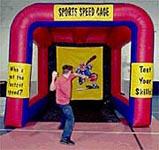 Sports Speed Cage Interactive Inflatable Rental